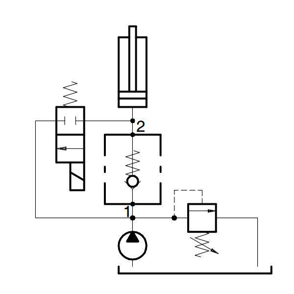 VUR гидравлический обратный клапан