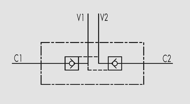 """VBPDE marchesini гидрозамок купить VBPDE 3/8""""L 2 C.C., VBPDE 1/2""""L 2 C.C."""