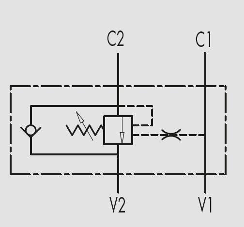 Гидравлический клапан (тормозной гидроклапан) VBCD SE A MARCHESINI